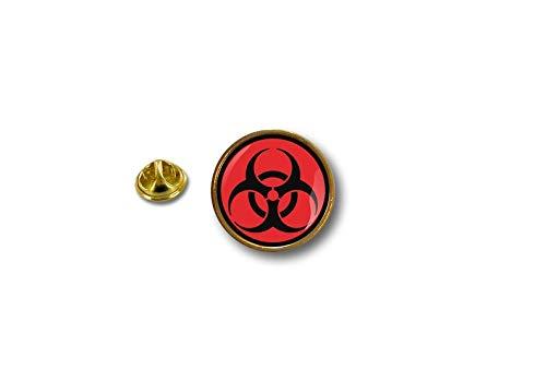 Akacha pinnen pin vlag Badge Metalen reversmuts Button Biker Biohazard Radiation Danger C