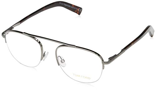 Tom Ford FT5450 49012 Tom Ford Brille FT5450 012 49 Aviator Brillengestelle 49, Gunmetal