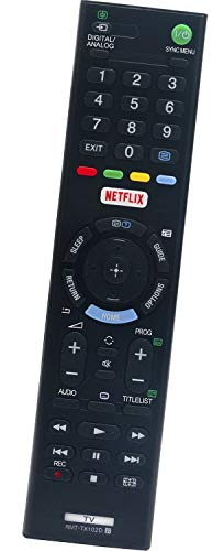 ALLIMITY RMT-TX102D Mando a Distancia Reemplazar Apto para Sony LED LCD Bravia TV KDL-43WD757 KDL-43WD758 KDL-48WD655...