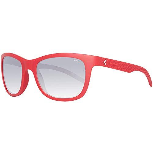 Polaroid PLD 7008/N JB LNM 54 Gafas de sol, Rojo (Red/Grey Silmir Pz), Hombre