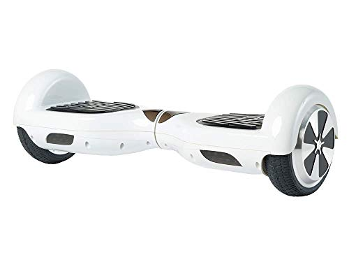 Best Review Of Self Balancing Mover Slide Electric Scooter Ride, White
