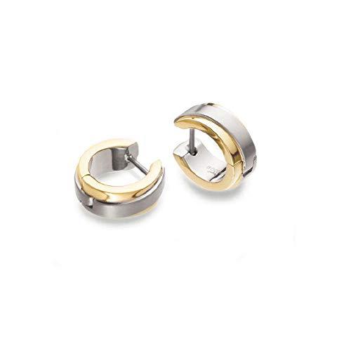 Boccia Titan Damen-Ohrringe Creolen gold 0510-13