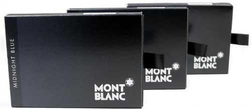 Montblanc Tintenpatronen Midnight Blue (24 Stück)