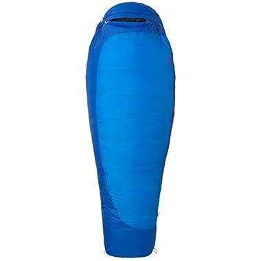 Marmot Trestles 15 Women's Cold-Weather Mummy Sleeping Bag, 15-Degree Rating