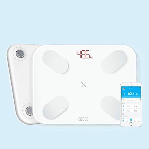 Slimme weegschaal Gewichten Weegschalen Digitale lichaamsvetweegschaal Personenweegschaal Vloer Elektronische weegschaal voor buiten met APP