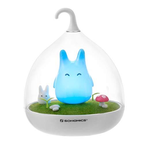 Songmics – FSL02 – Veilleuse LED Totoro – Pour bébé et enfant – Avec variateur...