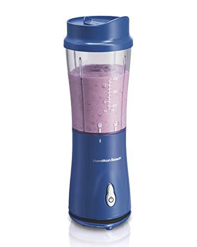 Liquidificador Individual, Azul, 110v, Hamilton Beach
