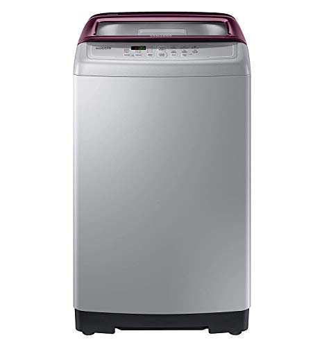 Samsung 7.5 kg Fully-Automatic Top Loading Washing Machine (WA75A4022FS/TL, Imperial Silver,...