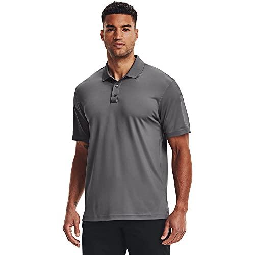 Under Armour TAC Performance Polo 2.0 Camisa, Grafito (040)/Grafito, XXXL para Hombre