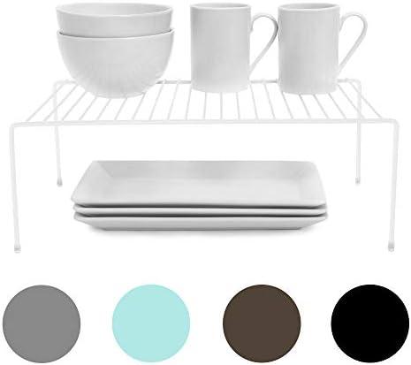 Smart Design Cabinet Storage Shelf Rack Large 8 5 x 16 Inch Steel Metal Wire Cupboard Plate product image