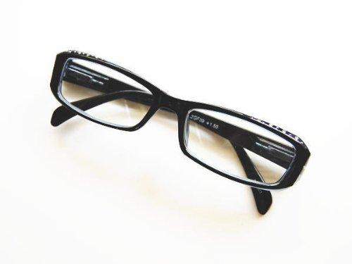 Reading glasses リーディンググラス 老眼鏡 YGF39 Black +3.0