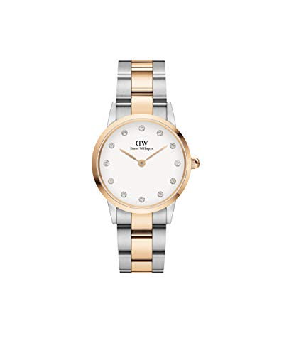Reloj Daniel Wellington Mujer DW00100359 Steel Collection Iconic Link Lumine