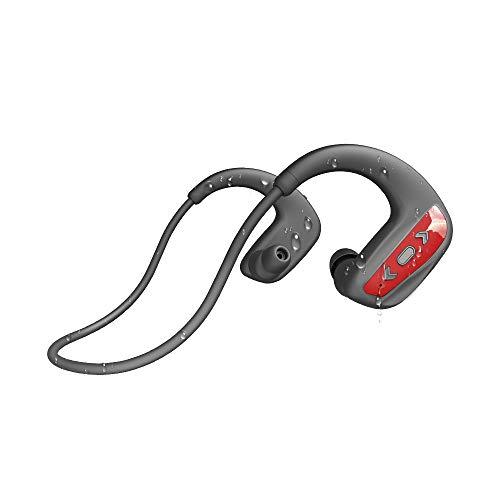 CYBORIS Cuffie Wireless Nuoto Auricolari Bluetooth 5.0 Auricolari IPX8 Impermeabili, Lettore Mp3 16 GB & Riduzione del Rumore Cuffie, Suono Stereo HiFi Cuffie Sport per Corsa, Ciclismo, Palestra