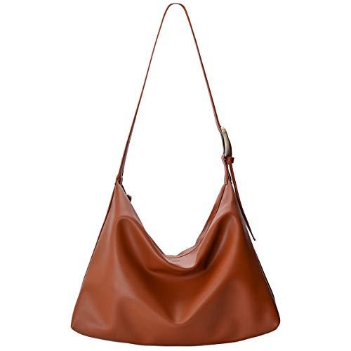 Hobo Handbag for Women, Shoulder Tote Bag, Crossbody Slouchy Purse for...