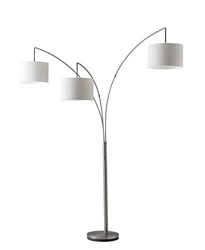 Adesso Trinity 3 Arc Floor Lamp ...