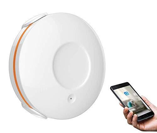 KKmoon Wassersensor, intelligenter Wassersensor, Wasserleck-Sensor und Alarm mit App-Benachrichtigung, kompatibel mit...