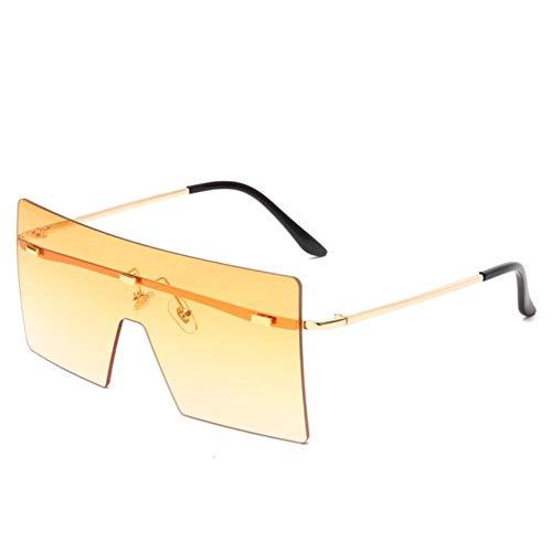XMYNB Gafas Sol Gafas De Sol Plaza Mujeres Hombres Gafas De Sol Eyewear Eyeeglasses Pc Frame Lente Transparente Uv400 Shade Moda Conducción Al Aire Libre