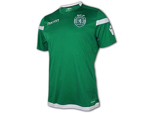 Macron Sporting Lissabon Training Shirt Clube de Portugal Fußball Trikot Jersey, Größe:S