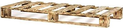 2 x PALETS DE MADERA DE PINO DE 75 x 190 x 15 para colchones de 150x190. Un somier trabajado a mano con sumo cuidado, muy resistente y de palets reciclados es es toda una tendencia para el interiorismo el diseño industrial y para el confort de un bue...