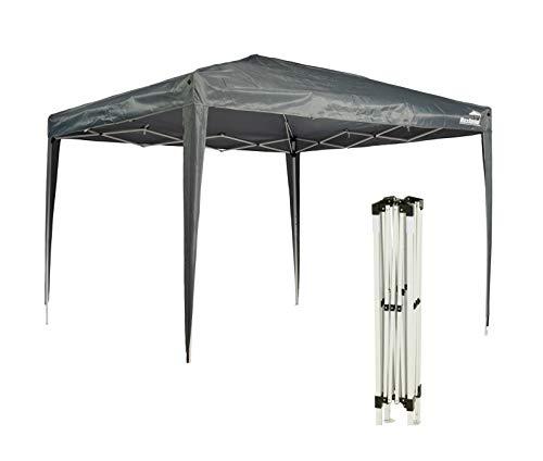 Maxx Carpa 3x 3m   impermeable   Pop Up, con funda   Protección UV 50+   Cenador plegable de jardín fiesta tienda   verde   Selección de Colores (gris)