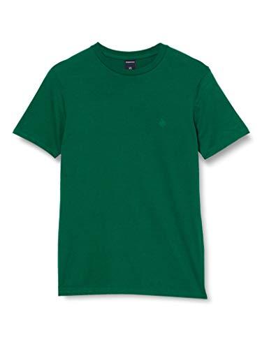 Springfield 5Ba Básica Logo Tree-c/21 Camiseta, Verde (Green 21), Small (Tamaño del Fabricante: S) para Hombre