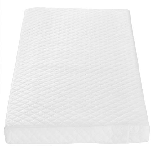 Tutti Bambini Sprung Cot Bed Mattress (70 cm X 140 cm) Breathable Spring...