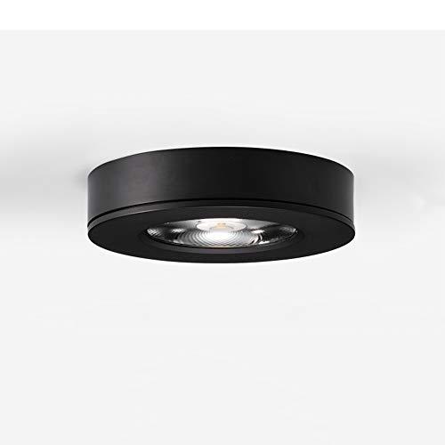 Qiqioog Focos pequeños ultrafinos montados en Superficie, focos empotrados con Cuentas de lámpara LED, focos de mostrador Que no se...