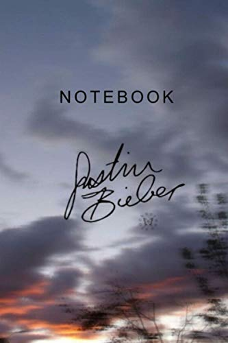 Justin Bieber| Notebook , Journal | Perfect for Birthday gifts and Fan club members: Perfectly Lined journal ,140 pages , 6x9 inches