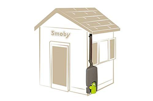 Smoby – Regenfass mit Gießkanne – Zubehör für Smoby Spielhäuse, Sammlung von Regenwasser, mit Regenrinne und Wasserhahn, passend für die meisten Smoby Spielhäuser