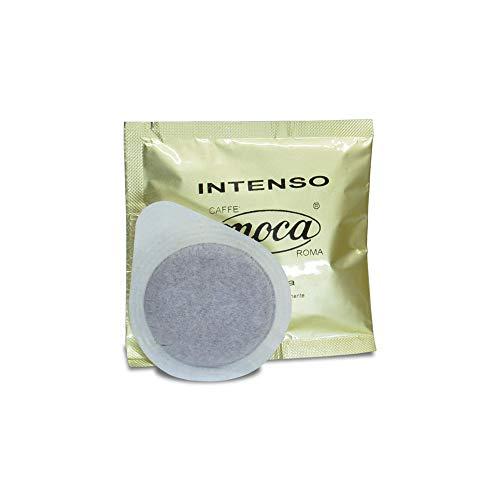 Caffè Moca 150 Cialde ESE 44 mm Intenso Carta Filtro Compostabile - 150 Cialde (100% Arabica)