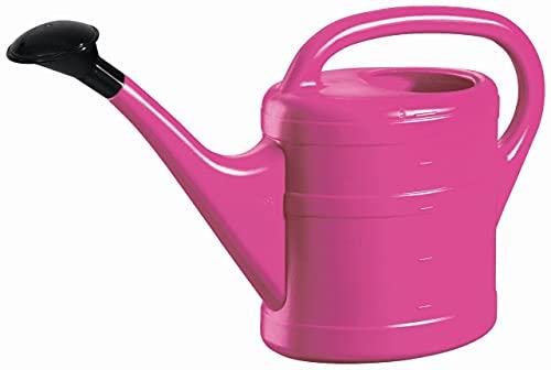 Gieter 5L kunststof met sproeikop roze