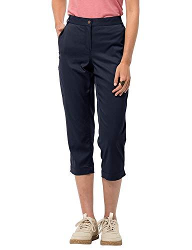 Jack Wolfskin 1505831-409-Large Senegal Pantalones de Senderismo Transpirables para Mujer, Azul Medianoche, L