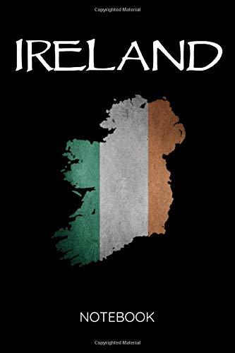 [画像:Ireland Notebook: Irish Flag Map St. Patrick's Day Gift  Travel Vacation Journal/Notebook. Blank Rules Pages.]