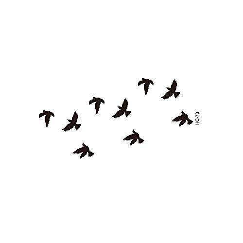 EliaSan Personal Care Vögel temporäre abnehmbare Sexy Body Tatto wasserdicht temporäre Tätowierung gefälschte Tattoo Art Stick