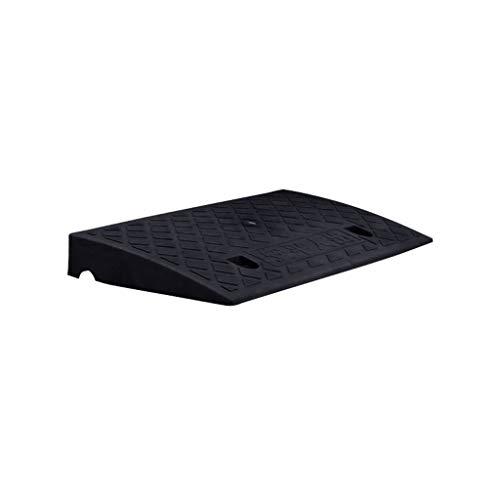 C-J-Xin drempelrampen, 7 cm, kunststof, multifunctioneel, driehoekig, rechthoekig, pedaal-kussen, waterafstotend, opvouwbare oplossingen in drie kleuren
