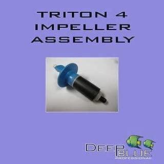 Deep Blue Professional ADB40014 Triton 4 Impeller with Shaft for Aquarium