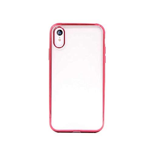 Funda Glitter Soft con Borde Rojo para iPhone XR 6.1