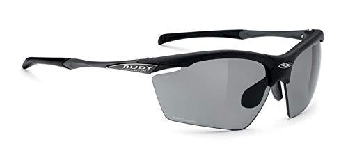 Rudy Project Agon Sunglasses-Matte Black-Polar 3FX Grey Laser