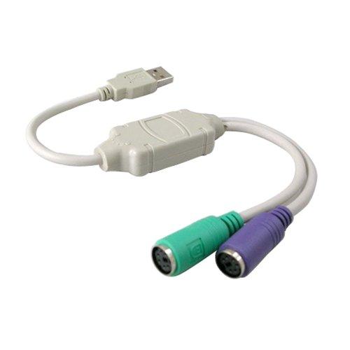 Misswonder USB a PS / 2 PS2 del Teclado del ratón del...