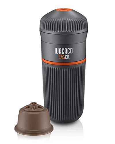 WACACO DG Kit, Accesorio para Máquina de Espresso Portátil Nanopresso, Compatible con Cápsulas de Café DG, Perfecto para Viajes, Camping o Uso de Oficina