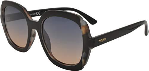 SQUAD Gafas de sol mujer Gradient Espejo Fashion Cuadradas 100% protección UV400 ⭐
