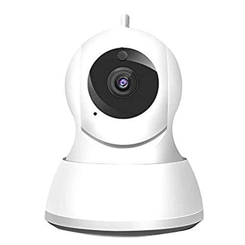 Metermall 720P/1080P Wireless Security Camera, Home WiFi Wireless Security Surveillance IP Camera Motion Detection Pan 1080P Full HD no memory (European Standard)