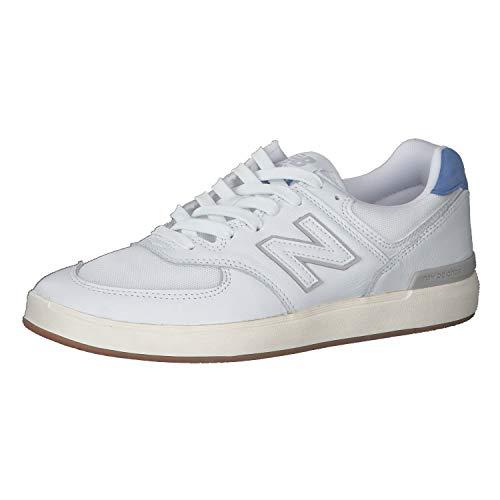 New Balance Sapatilhas All Coasts AM574 White with Cobalt Blue 41 1/2 - AM574WBT-41.5