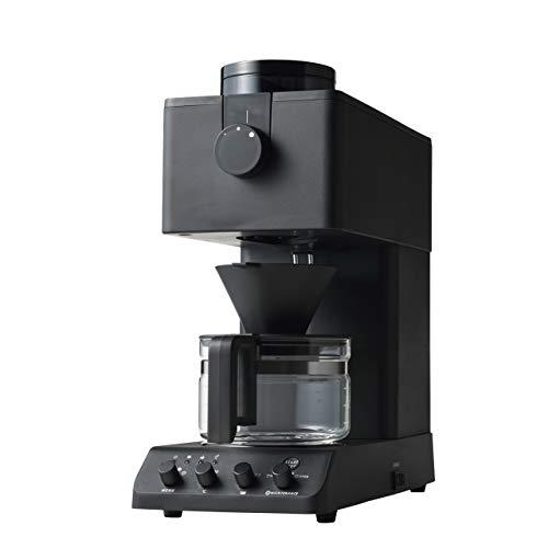 ツインバード 全自動コーヒーメーカー CM-D457B ブラック ミル付き