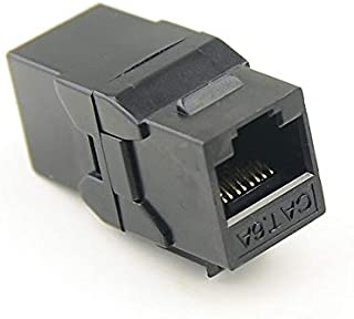 SIZOO - Computer Cables & Connectors - UTP RJ45 Connector CAT6 Straight Through Network Module Information Socket Computer...