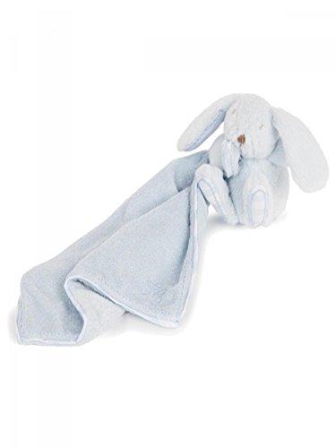 TARTINE ET CHOCOLAT - Doudou Lapin bleu ciel 24 X 24 cm bébé garçon Tartine et Chocolat