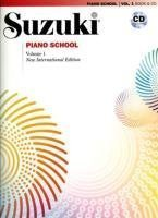 Suzuki Piano School- New International Edition- Book 1- (Book & CD) (Suzuki Method Core Materials) by Dr. Suzuki Pap/Com Mu Edition [Sheetmusic(2008/5/13)]
