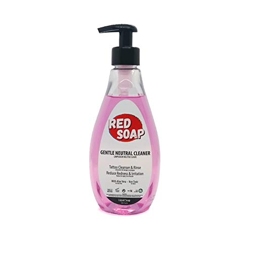 GREEN SOAP Jabón Tatuaje - Red Soap (500ml) - Para