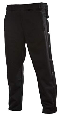 Funny Guy Mugs Retro Tearaway Sweatpants - Premium Breakaway Pants (Black, Adult X-Large)