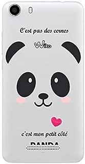 Coque Lenny 2 Panda Coeur Rose Cute Kawaii Transparente
